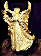 Angel Figurine with Silver Wings  AA18-1369 Vintage