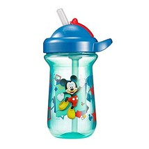 The First Years Baby Mickey Mouse Flip Top Straw Cup, 10 oz, 1 Pack - $8.31