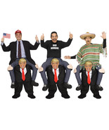 DELUXE PRESIDENT DONALD TRUMP CARRY ME ADULT MENS HALLOWEEN COSTUME - $93.14