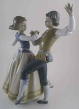 "LLADRO ""DANCING THE POLKA"" #5252 PORCELAIN FIGURINE SCULPTOR REGINO TORR... - $346.49"