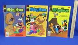 Walt Disney Mickey Mouse 1978 Comic Books Whitman & Gold Key Lot Of 3 - $9.89