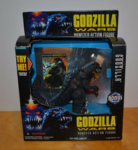 "GODZILLA WARS SUPERCHARGED MONSTER ACTION FIGURE IN BOX 4"" TRENDMASTERS ... - $67.71"