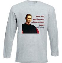 Nicolo Macchiavelli - New Cotton Grey Tshirt - $26.77