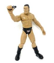 1999 WWE The Rock Titan Tron Live Jakks Wrestling Figure w/ Smack Down Mic - $8.59