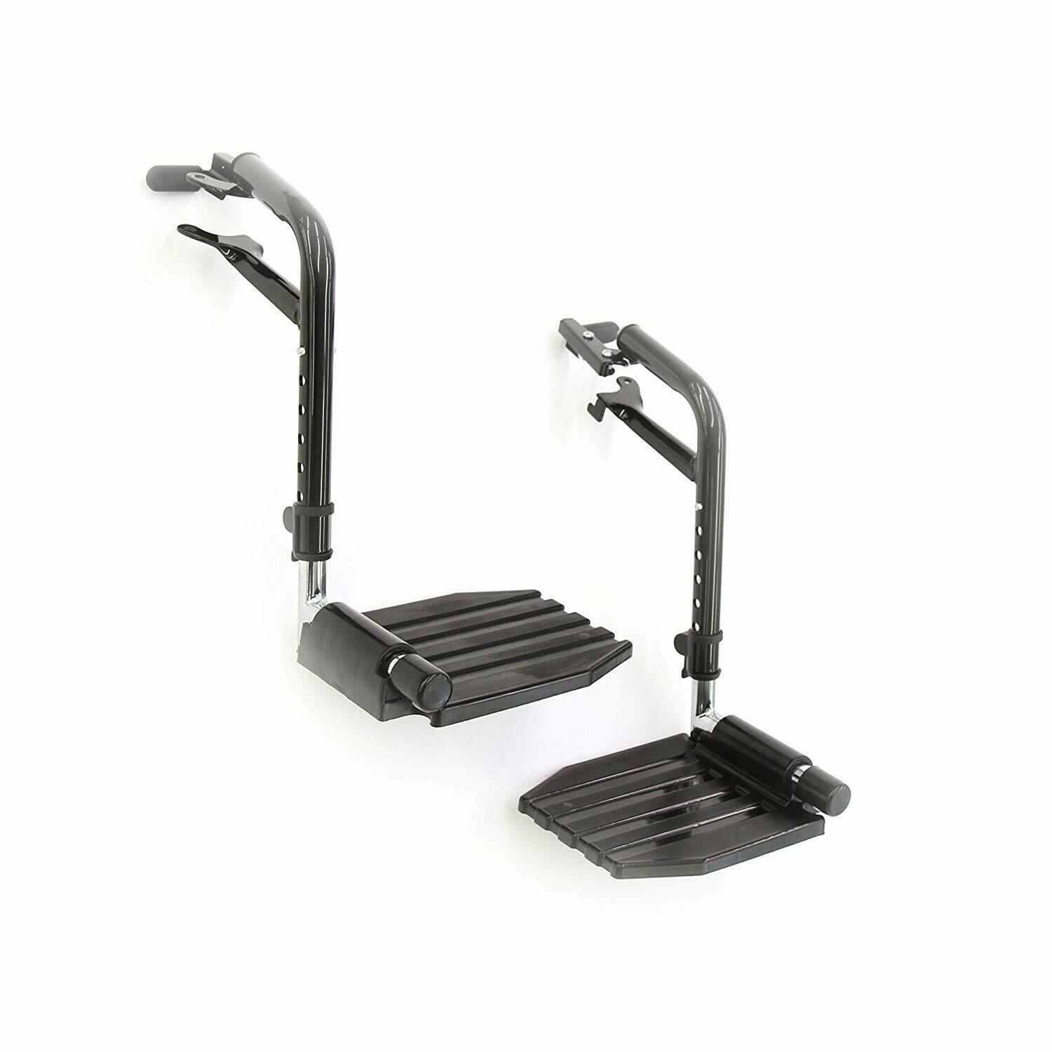 Primary image for Invacare T93HEP Economy Footrest for Standard Wheelchairs, Stylish, Durable