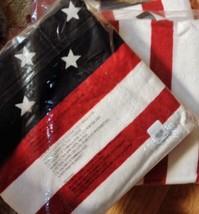 Pottery Barn Mini Stars Beach Towel Pool Summer American Flag Print New - $39.00