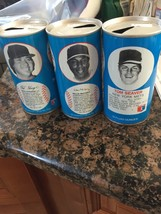 SET OF THREE RC COLA'S CANS EMPTY OF SEAVER +GOSSAGE         3965 - $24.19