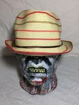Panama Jack Original Fedora Style Paper Braid Hat Size One Size Cap Beig... - $24.74