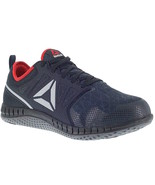 Mens Reebok Work Zprint Work Oxford w/ Steel Toe - Navy Red Black [RB4250] - $109.99