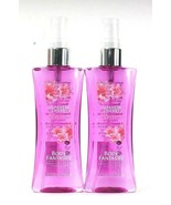 2 Bottles Body Fantasies 3.2 Oz Japanese Cherry Blossom Fragrance Body S... - $19.99