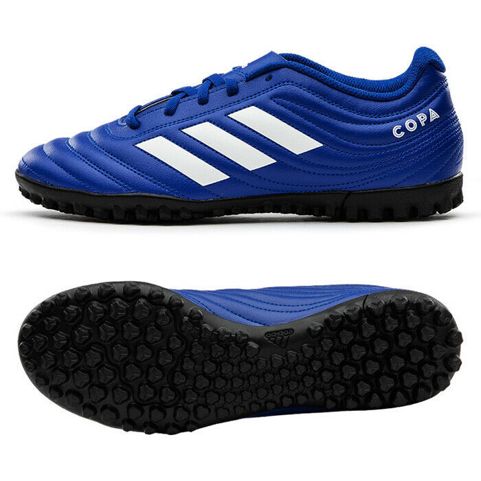 Primary image for Adidas Copa 20.4 Turf TF Football Boots Soccer Cleats Blue EH1481