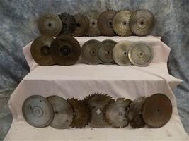 20 Circular Buzz Saw Blades Vintage Saw Mill Industrial Age Steampunk Si... - $99.00