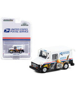 LLV (Long Life Postal Delivery Vehicle) White with Graphics United State... - $30.76