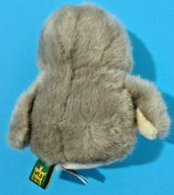 Wild Republic Owl 4.5 inch Gray Plush Stuffed Animal Spotted Mini Fuzzy Bird image 3
