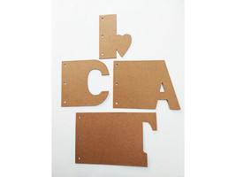 "Nicole Crafts Build a Memory ""Cat"" Chipboard Album #MEM5403 image 2"