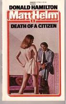 Death of a Citizen [Apr 12, 1984] Hamilton, Donald