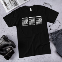 IMens Guitar Chord Shirt Dad / dad best ever t-shirt / made in USA / T-Shirt image 1