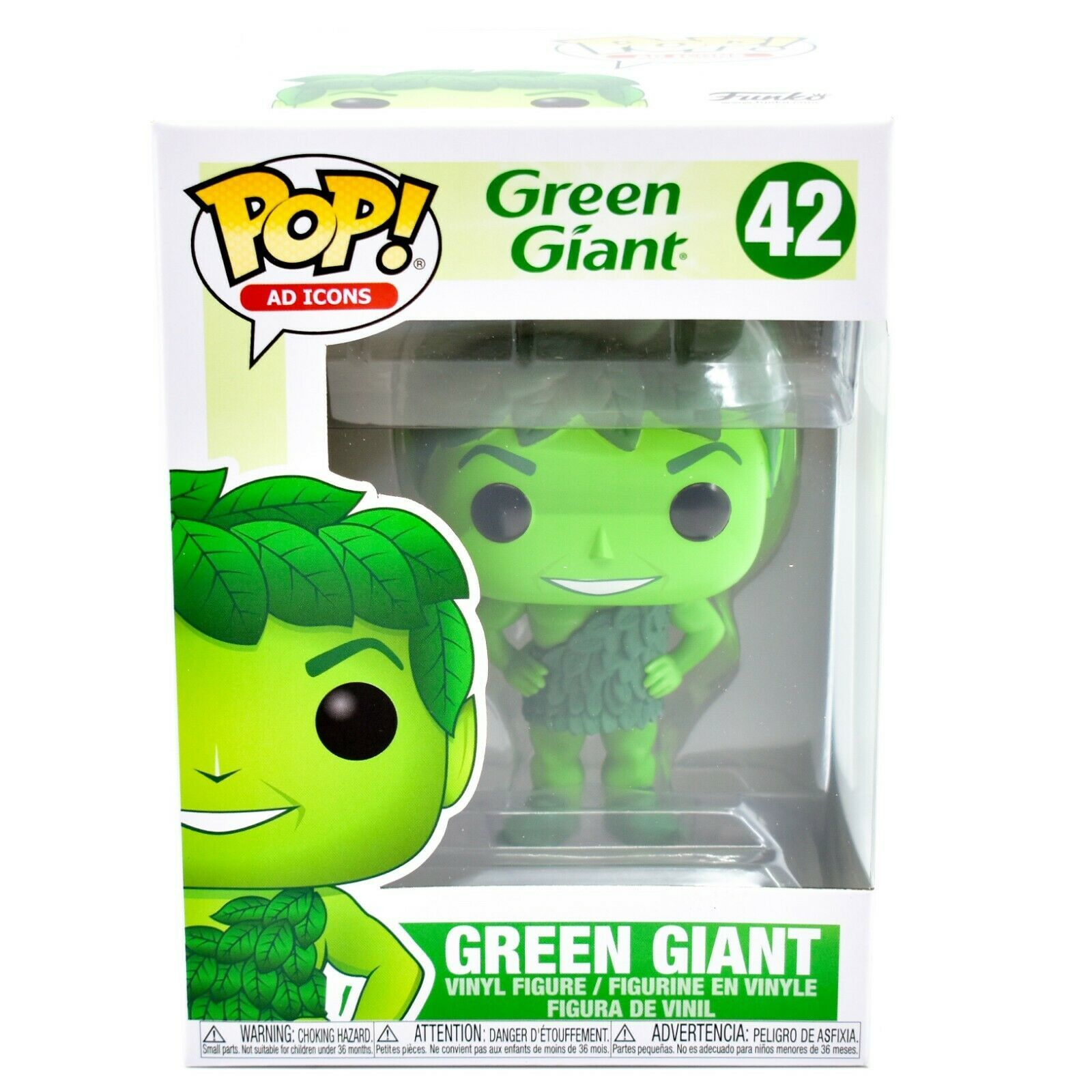 Funko Pop! Ad Icons Green Giant #42 Vinyl Action Figure