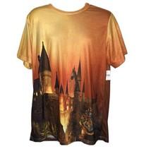 Harry Potter T Shirt Mens XL All Over Print Movie Full Castle Universal ... - $44.22