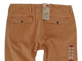 NEW NWT LEVI'S STRAUSS MEN'S ORIGINAL RELAXED FIT CHINO PANTS ORANGE 556880015 image 5