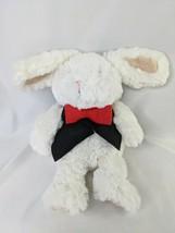 "Magician White Rabbit Plush 11"" Felt Vest Tie Stuffed Animal Toy - $12.95"