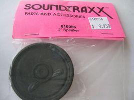 "Soundtraxx #810056 2"" Speaker Round  8 Ohms .1 Watt image 3"