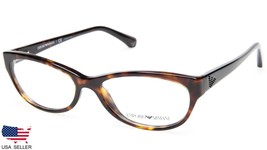 New Emporio Armani Ea 3008 5026 Dark Havana Eyeglasses Frame 53-16-140 B32mm - $48.50