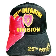 25th Infantry Division Tropic Thunder Hat Cap Embroidered Pink & Black A... - $8.90