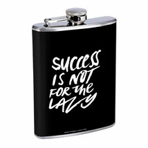 Lazy Success Em1 Flask 8oz Stainless Steel Hip Drinking Whiskey - $13.81