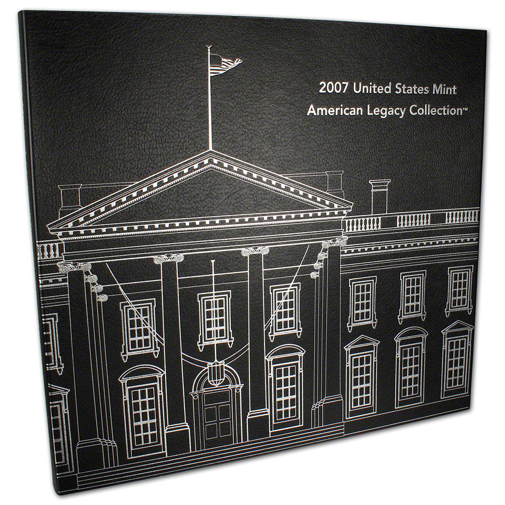 2007 American Legacy Collection 16 Coin Set