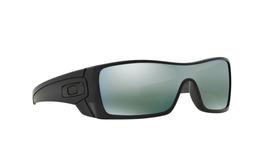 Oakley Batwolf Sunglasses OO9101-37 Matte Black Ink W/ Emerald Iridium Lens - $118.79