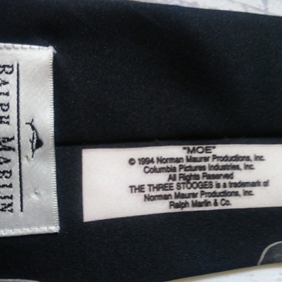 Ralph Marlin men's polyester tie