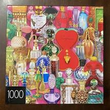 Cardinal 1000 Piece Jigsaw Puzzles - Perfume Bottles  - Complete & Excellent - $12.82