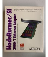 Artisoft NodeRunner Ethernet Adapter Card Model 2000/a - $18.69