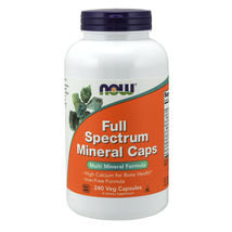 Now Foods Full Spectrum Mineral Caps 240 Capsules Made in USA  - $44.86