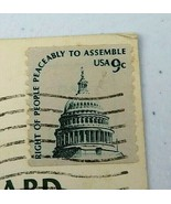 Antique Vintage American Used Postage Stamp Slate Green 9 Cent Capitol D... - $45.00