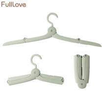FULLLOVE® Foldable Clothes Hanger Organizer Plastic Drying Racks - $178,72 MXN