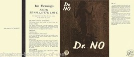 Fleming-Facsimile dust jacket for 1st 1958 UK edition of Dr. No - $21.56