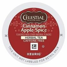 Celestial Seasonings Cinnamon Apple Spice Herbal Tea, 24 K cups FREE SHI... - $20.56