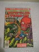 SUPER-VILLAIN TEAM-UP #10 F-VF COND marvel comic 1976 - $4.99