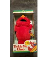 VINTAGE 1996 ORIGINAL TICKLE ME ELMO PLUSH DOLL TYCO NIB - $500.00