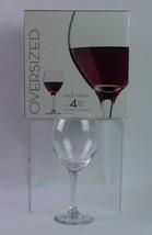 Set of 4 Libbey Red Wine Glasses 20 oz Oversized NIB - $12.86