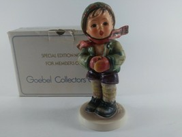 """Goebel M.IHummel """"IT'S COLD"""" #421 Special Edition #6 Collector's Club 19... - $57.18"""