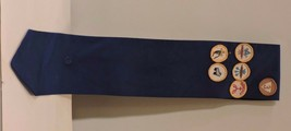 Vintage Girl Guides Sash with some Badges - $24.75