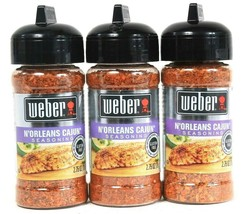 3 Ct Weber 2.75 Oz N'Orleans Cajun No MSG Gluten Free Big Easy Flavor Seasoning - $15.99