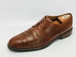 Cole Haan Men's Warren Cap Toe Oxford Brown Leather Size 10.5W - $69.29