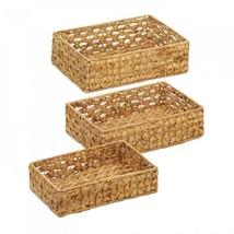 Wicker Basket Tray Set - $36.65