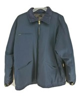 Colorado Timberline Barn Jacket Quilted Mens Sz 2XL Navy Blue (hg) - $42.99