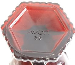 Avon Cape Cod Royal Ruby 4 1/2 Inch Goblet Pair image 4