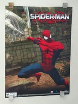 2 Sided Marvel Comics Spider-man Shattered Dimensions video game promo poster 1 image 2